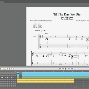 """Til The Day We Die"" Guitar and Bass tab"